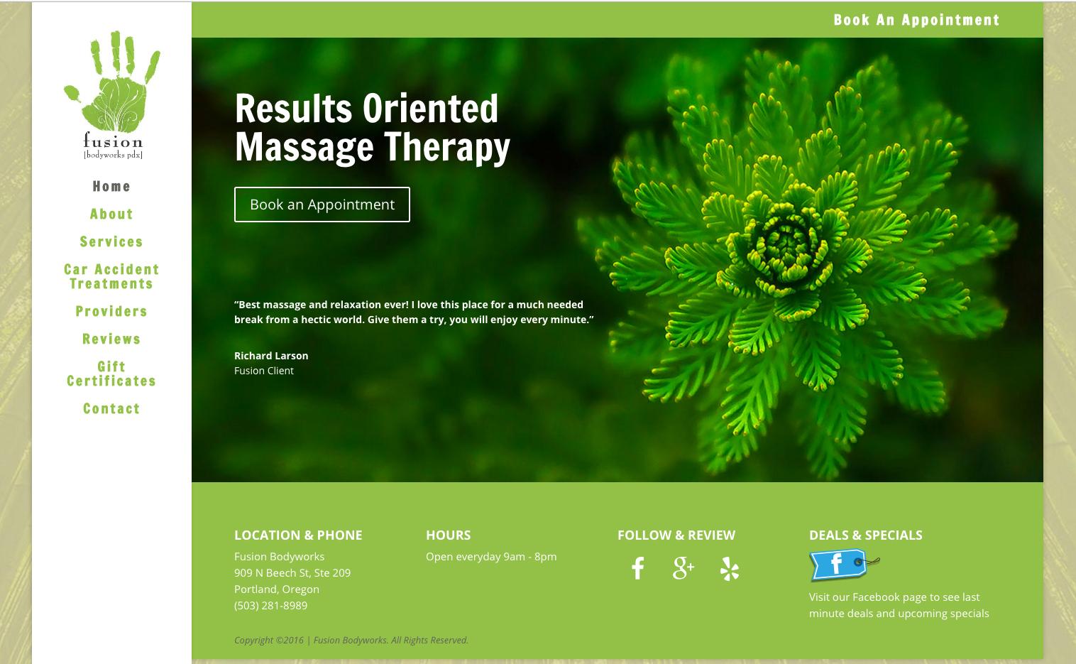 fusionpdx-website