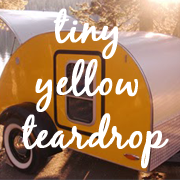 Tiny Yellow Teardrop